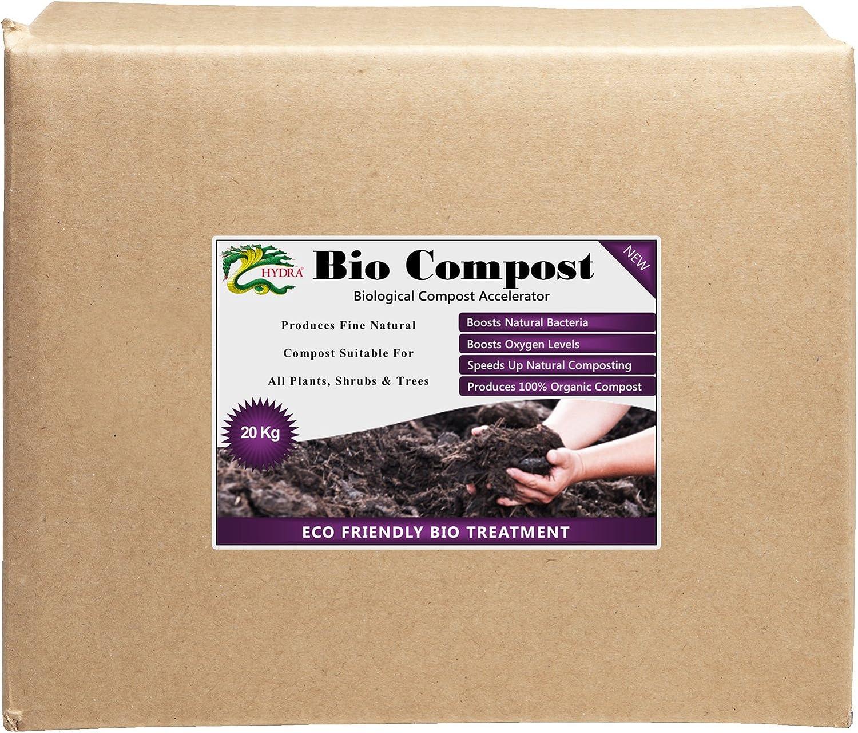 Bio -20 kg hecho naturalmente compostará Compost materia orgánica enmienda del suelo/GPO multiusos astronave: Amazon.es: Jardín