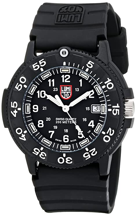 10. Luminox Men's 3001 Quartz Navy Seal Dive Watch