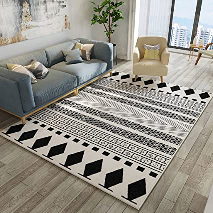 Prime Amazon Com Nordic Minimalist Modern Style Plaid Rugs Pdpeps Interior Chair Design Pdpepsorg