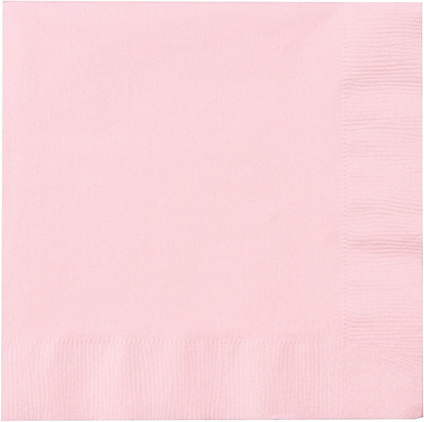 Creative Converting 139190135 Classic Pink 2 Ply Lunch Napkins
