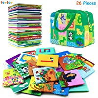 teytoy Baby Toy Animal Series 26pcs Soft Numbers and Animal Early Education Toy...