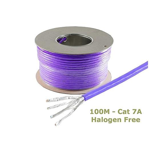 7 opinioni per TDA- 100M Cat 7A Reel ( Bobina )- Gigabit Ethernet Lan via cavo, senza alogeni-