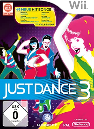 Ubisoft Just Dance 3 - Juego (Nintendo Wii, Música, E10 + ...