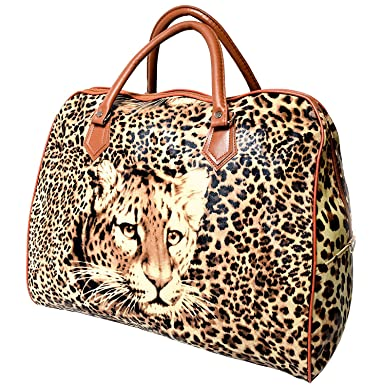 Women/'s Handbags With Bow Animal Leopard Tote Bags Faux Leather Shoulder Bag UK