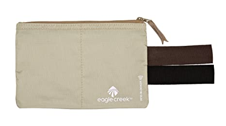015c26ad853c Eagle Creek Travel Gear Luggage RFID Blocker Hidden Pocket, Tan