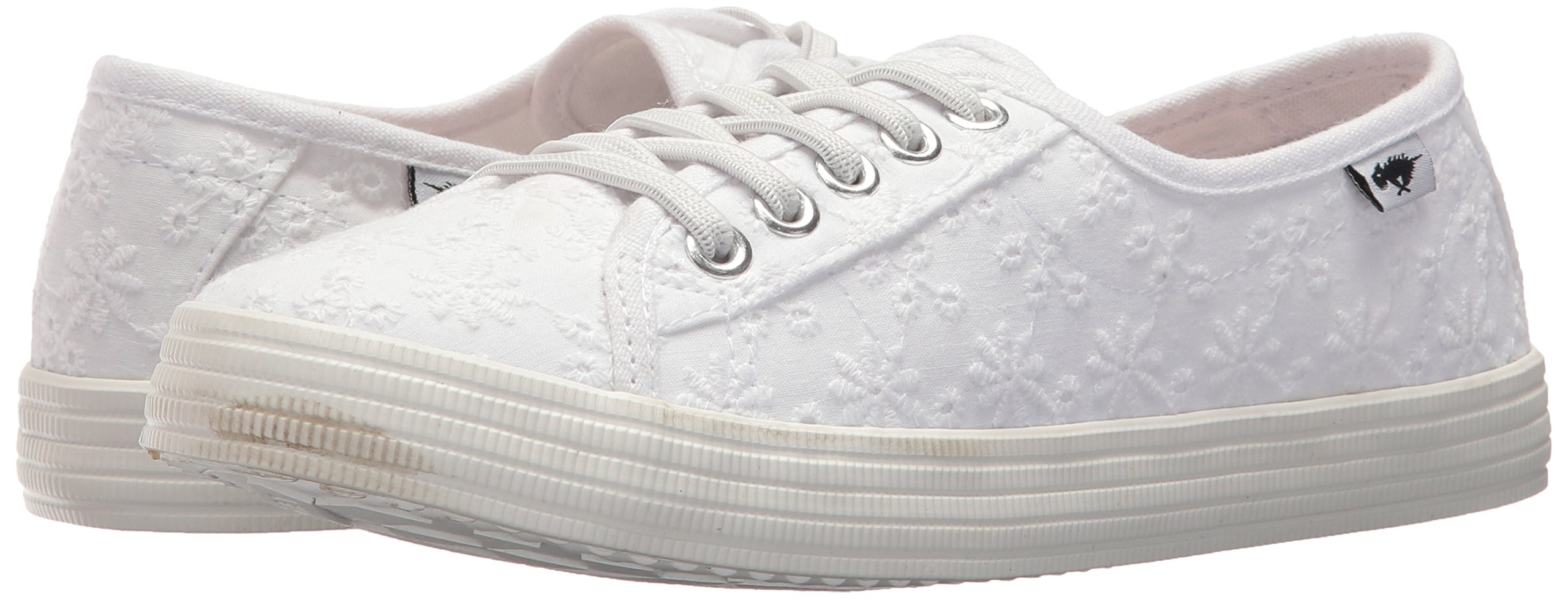 Rocket Dog Women's Chowchow Lucky Eyelet Cotton Sneaker, White, 9.5 Medium US by Rocket Dog (Image #5)
