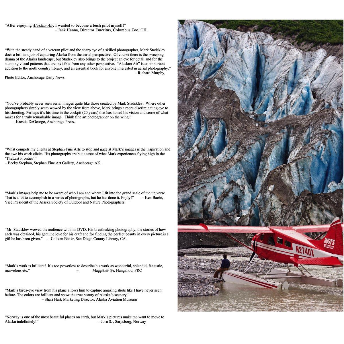 Alaskan Air: Mark Stadsklev: 9780983480808: Amazon com: Books