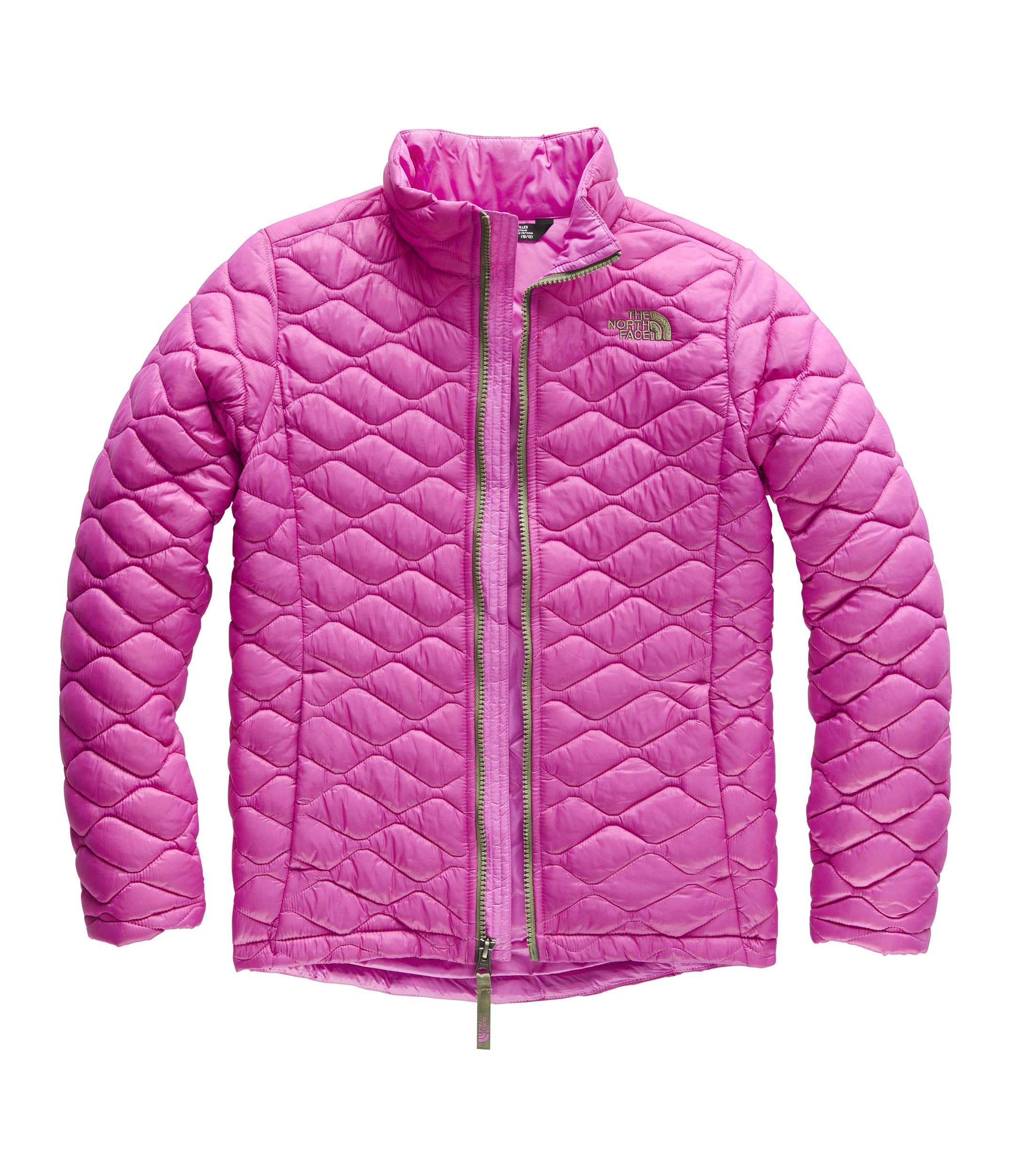 The North Face Girls' Thermoball Full Zip, Wisteria Purple, Large