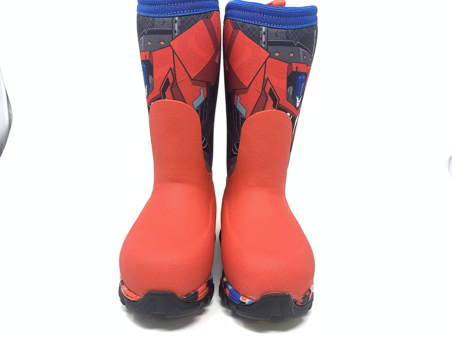 Muck Boot Boys Toddlers Rugged II Transformers Boots Size 7 Red