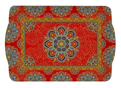 R2S 531JAIP Art Around The World - Bandeja Rectangular melamina, 33 x 22 x 2