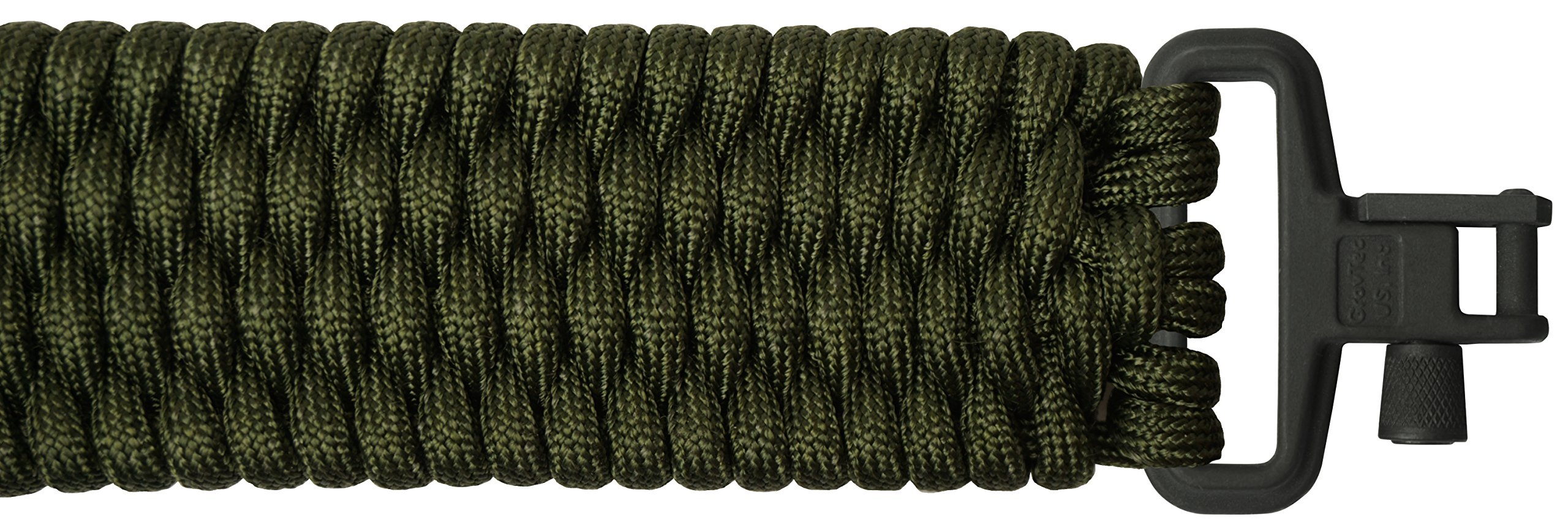 TOUGH-GRID Backbone(TM) Paracord Rifle Sling - Gun Sling/Rifle Sling - Handmade in The USA with Authentic Mil-Spec 750lb Type IV Paracord and Mil-Spec Swivels (BackBone90CGBoa)