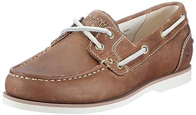 timberland chaussure bateau femme