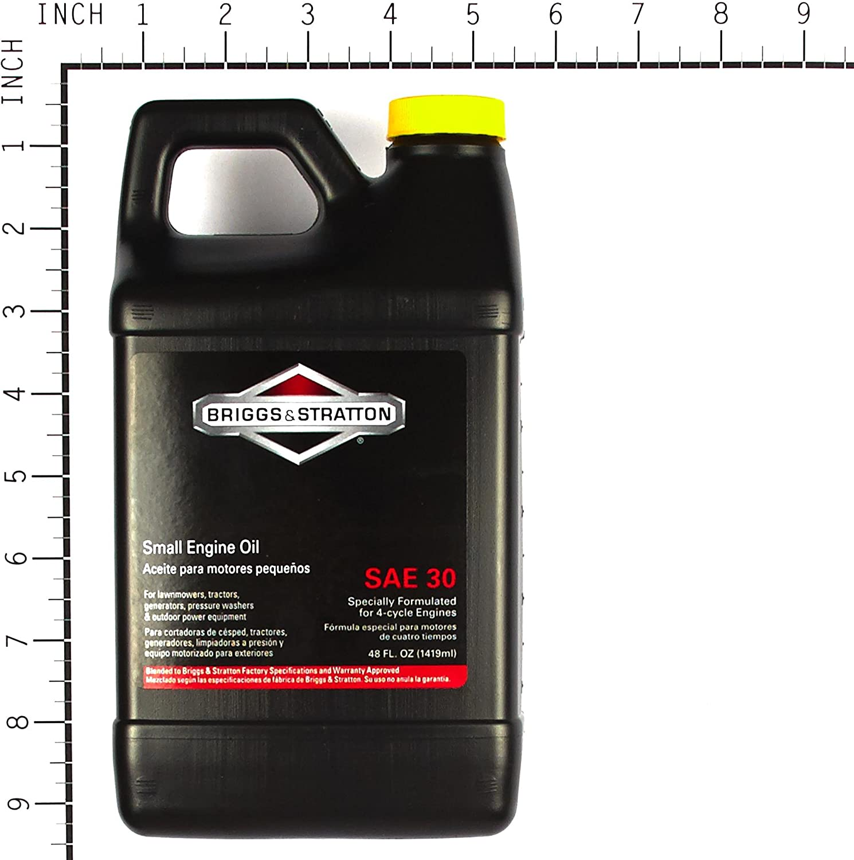 Briggs & Stratton 30W Engine Oil For Lawn Mower
