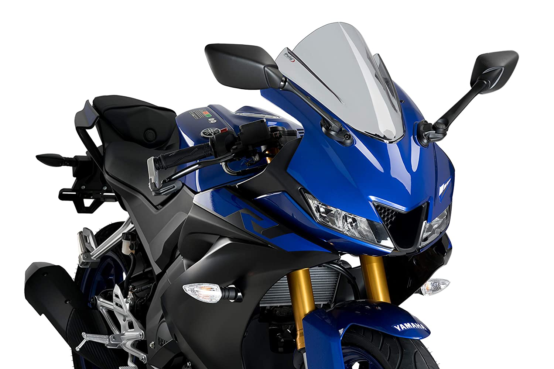 Puig 3619N C/úpula Z-Racing Yamaha YZF-R125 19 Negro