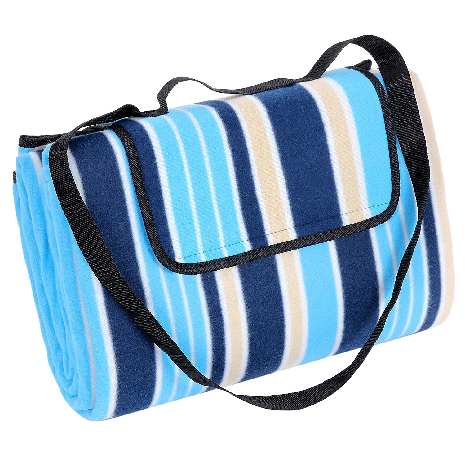 Travel 64 x 76 inches Fast Dry Fits Two Camping Sand Free Sport XL Beach Towel Microfiber Beach Blanket//Outdoor Picnic Blankets Corner Anchor Pockets