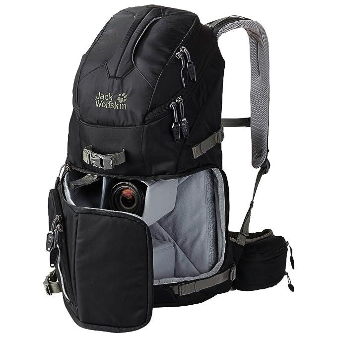 5178375376 Jack Wolfskin ACS Photo Pack Pro Backpack - 30 Litres, Black: Amazon.co.uk:  Sports & Outdoors