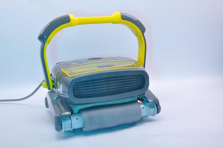 robot piscine electrique fond et paroi cool zodiac robot autonome electrique de piscine fond. Black Bedroom Furniture Sets. Home Design Ideas