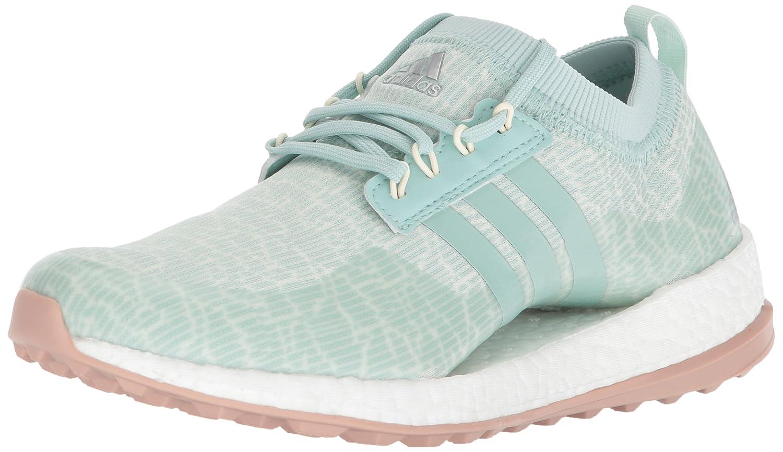 adidas Women's W Pure Boost Xg Golf Shoe B071769T9X 5.5 B(M) US Ash Green/White Tint/Ash Pearl