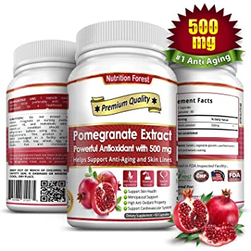 Amazon.com: Extracto de Granada 500 mg: Health & Personal Care