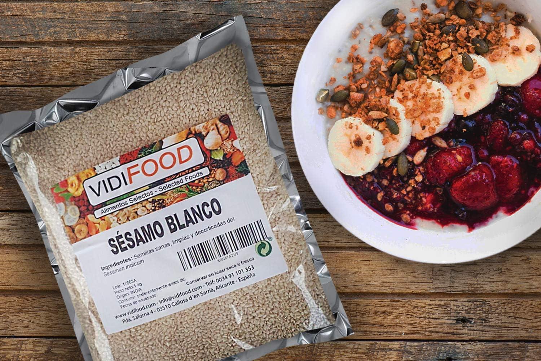 Mezcla de Semillas de lino, girasol, séamo, calabaza y amapola - 1 kg: Amazon.es: Alimentación y bebidas