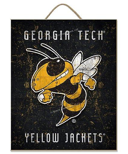 Amazon.com: NCAA Georgia Tech chaquetas amarillas | Logo ...