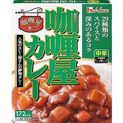 ハウス食品 カリー屋カレー 中辛 200g×10個 送料込688円(68.8円/個)