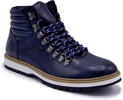 Ankle High Lace-Up Hikers Nautica Mens Pratt Work Boot