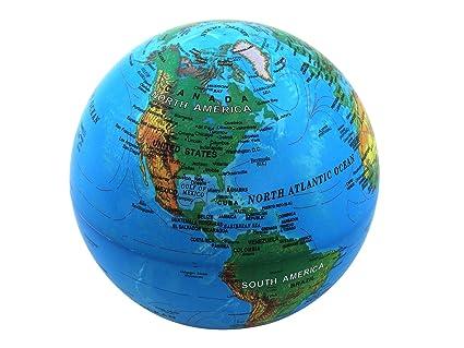 amazon com self rotating globe auto spinning desk rotary globe