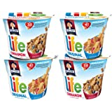 Life Multigrain Breakfast Cereal, Variety Pack, 12 Individual Cups