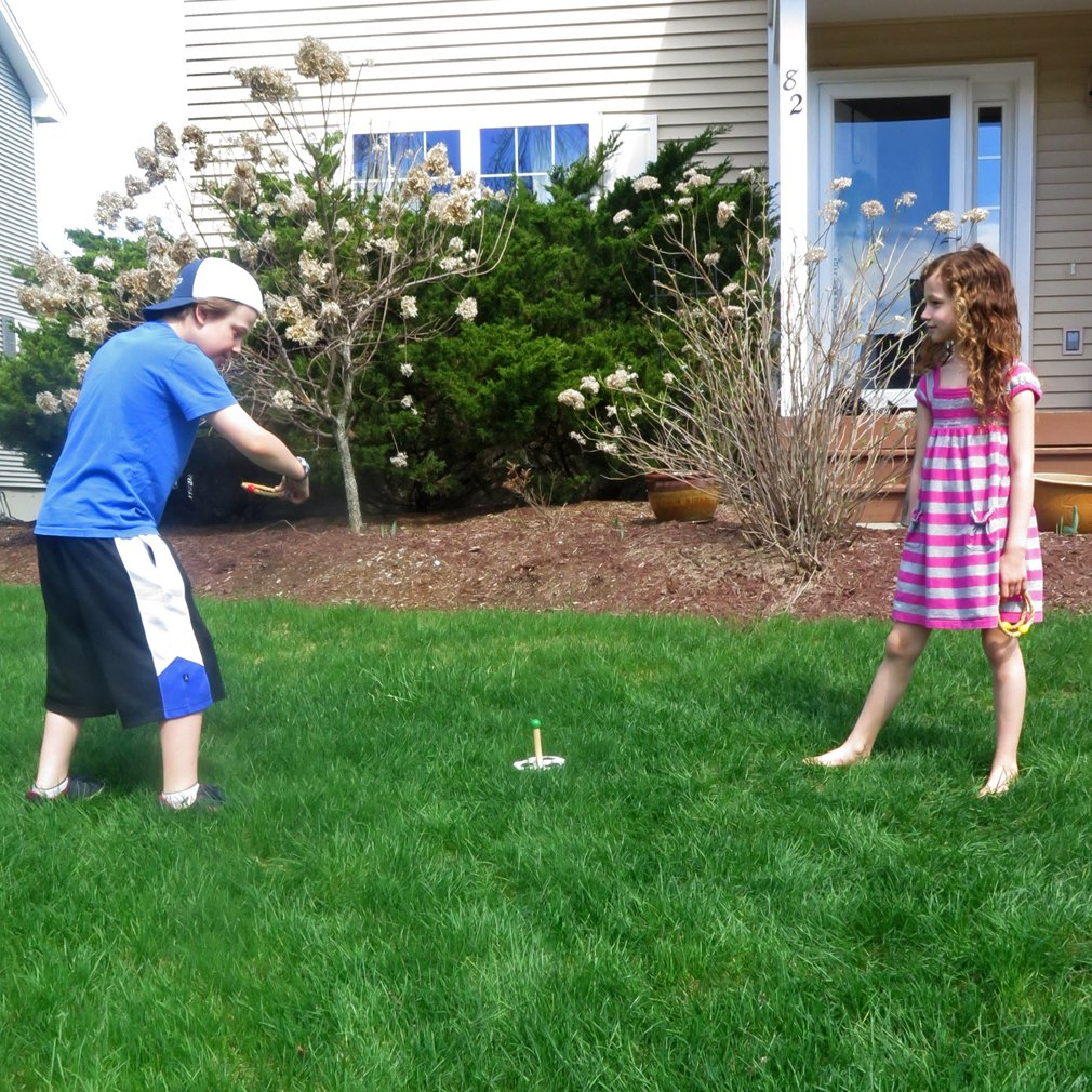 Evelots Ring Toss Game, Kids Games Improve Hand Eye Coordination & Motor Skills by Evelots (Image #1)