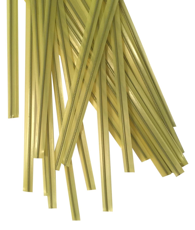 Duco Plastic Twist Ties Plastics and Supply Yellow 2000 Piece 4.5 L x 5//32 W DHLLC PTT4532Y 4.5 L x 5//32 W