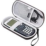 LTGEM EVA Hard Fall Reise Tragen Aufbewahrung Tasche für Texas Instruments Texas Instruments TI-84, 83 / Plus / CE Graphics Kalkulator- Inklusive Mesh-Tasche