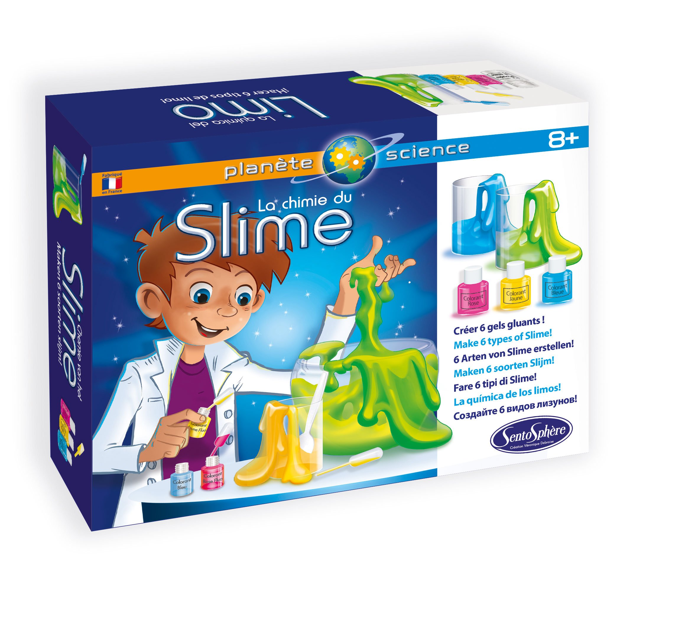 Sentosphère-2830-Slime Science Kit-Chemistry