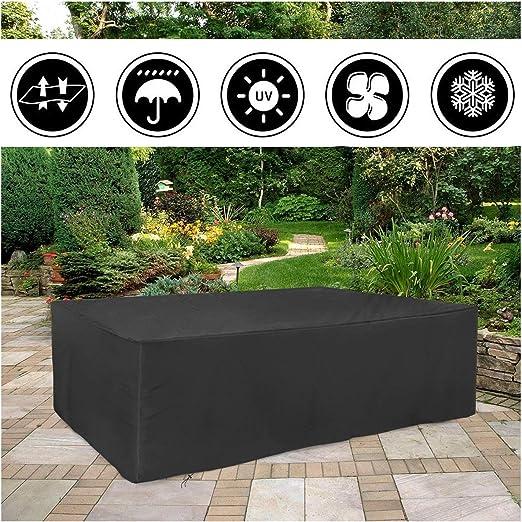 Funda para Muebles de Jardín, Impermeable Funda para Mesa ...