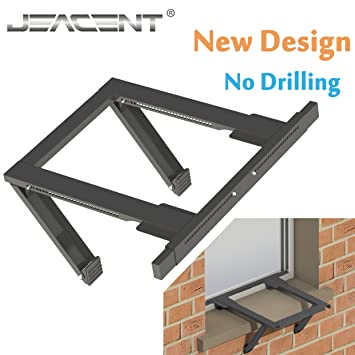 Jeacent AC Window Air Conditioner Support Bracket No Drilling Amazon.com: