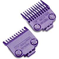 Andis 01900 Master Magnetic Comb Set - Dual Pack (2pcs), Purple