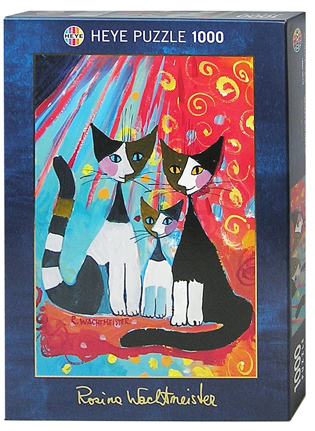 Amazon.com: Heye Rosina Wachtmeister Puzzle 29081 - We Want To Be Together (1000pcs): Toys & Games