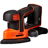 BLACK+DECKER BDCDS18N-XE 18V Lithium-ion Cordless Mouse Detail Sander Without Battery