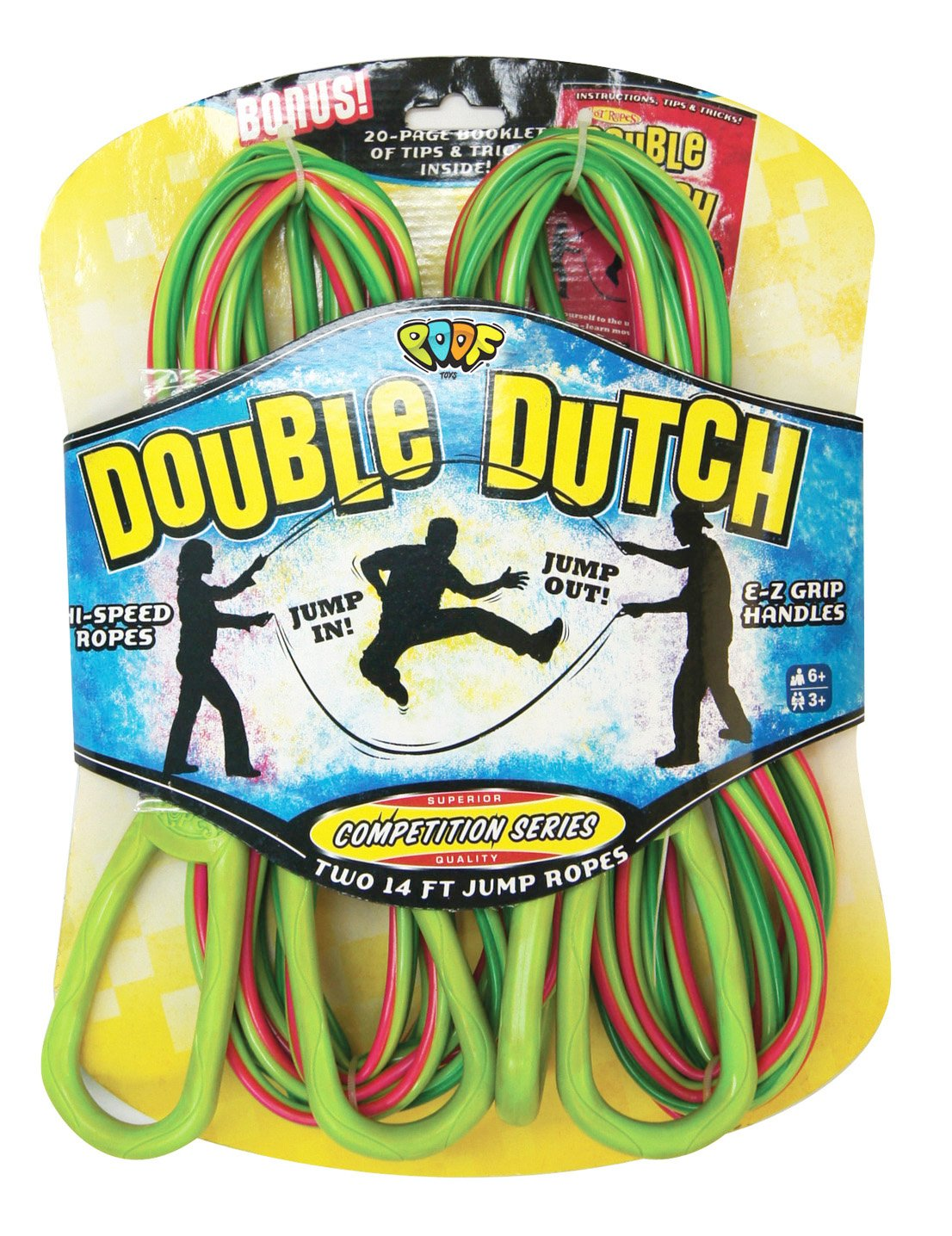 POOF Hot Ropes Double Dutch Jump Ropes