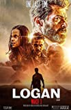 "Logan Wolverine Movie Poster 2017 : BANNER Vinyl 11""x17"" # AB"