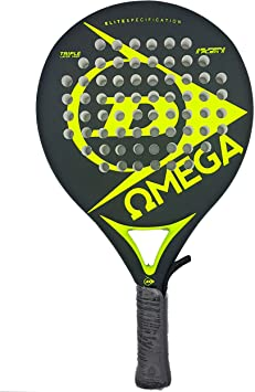Dunlop OMEGA - Pala de pádel 38mm, 2017, nivel iniciación, color ...