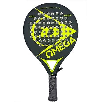 Dunlop OMEGA - Pala de pádel 38mm, 2017, nivel iniciación, color naranja: Amazon.es: Deportes y aire libre