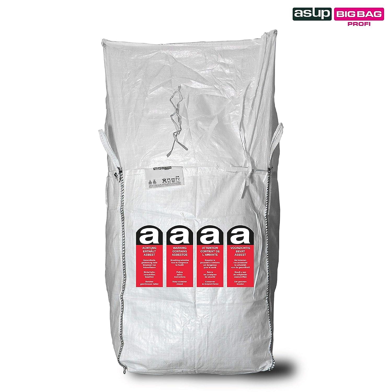 Asup Asbest Big Bag light 90x90x110cm | Asbest-Sack | Asbest-Big-Pack