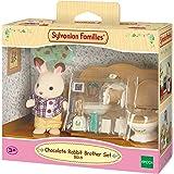 SYLVANIAN FAMILIES Chocolate Rabbit Brother Set Mini muñecas y Accesorios Epoch para Imaginar 5015