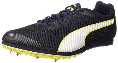 Puma Men s Evospeed Star 6 PeacoatBlackYellow Running Shoes-10 UK India  (44.5 EU 322e35dbe
