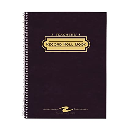 amazon com roaring spring record and roll book office products