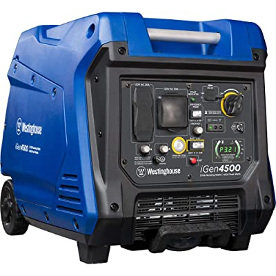 Westinghouse iGen4500 Super Quiet Portable Inverter Generator