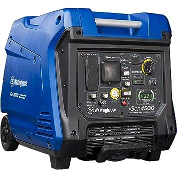 Amazon Com Westinghouse Igen4500 Super Quiet Portable Inverter