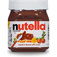 Nutella Chocolate Hazelnut Spread, Perfect Christmas Stocking Stuffer and Topping for Holiday Treats, 13 oz (Packaging…