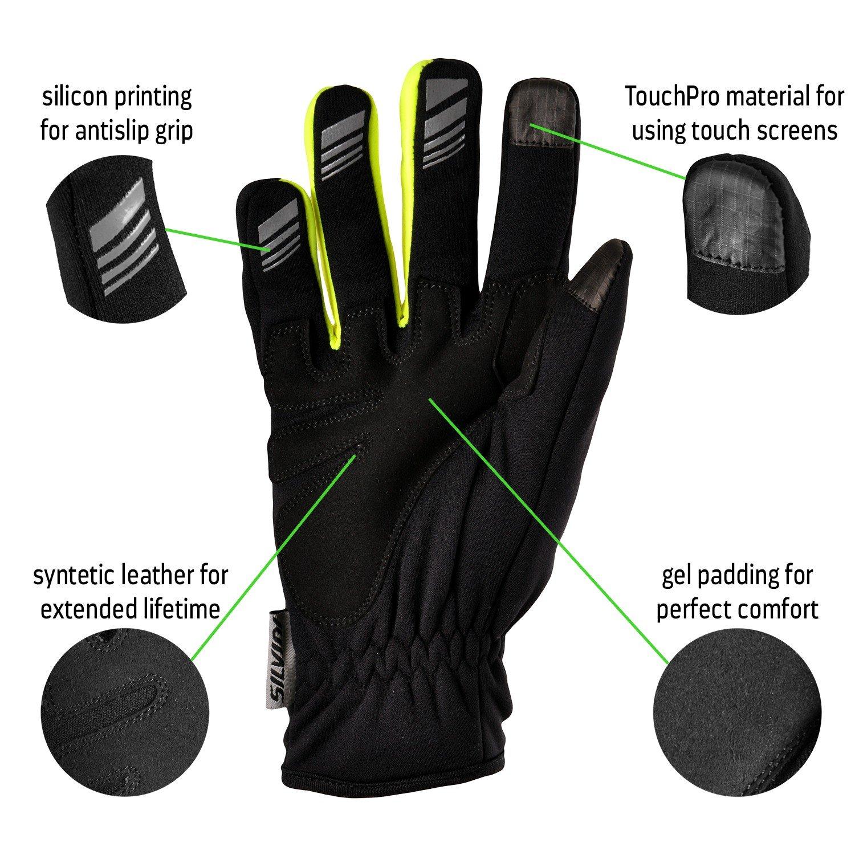 SILVINI Ortles Softshell Handschuhe Herren
